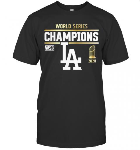 World Series Champions Los Angeles Dodgers 2020 shirt Classic Men's