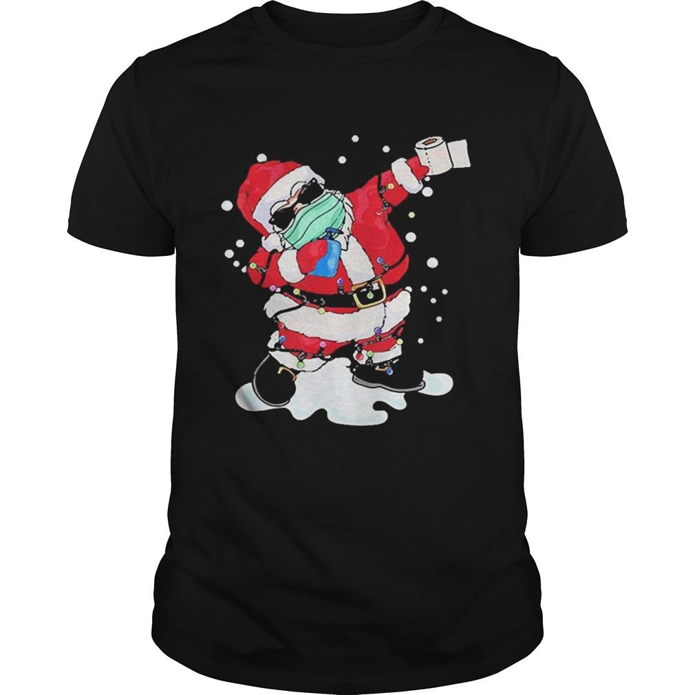Dabbing Santa Face Mask Christmas shirt Classic Men's