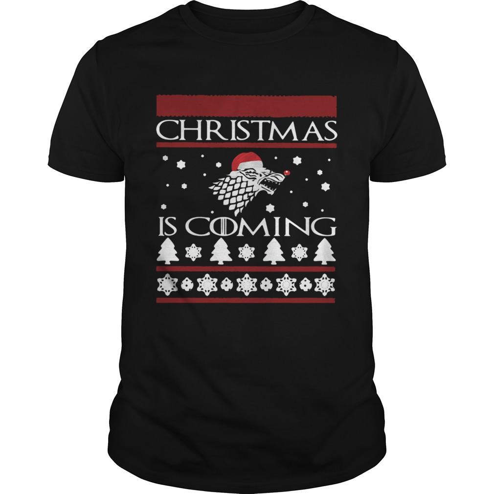 Game of Thrones Christmas Is Coming shirt Classic Men's