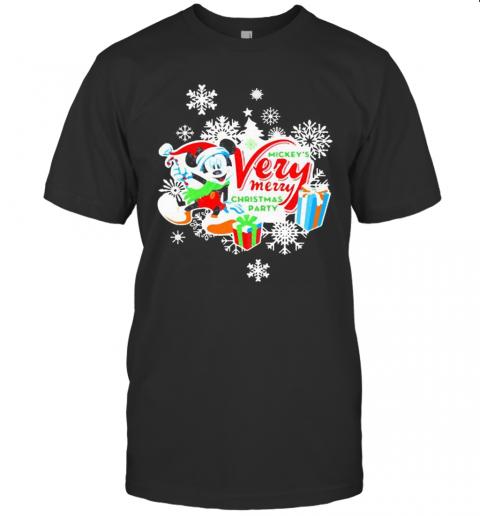 Mickey Very Mery Christmas Party 2020 shirt Classic Men's