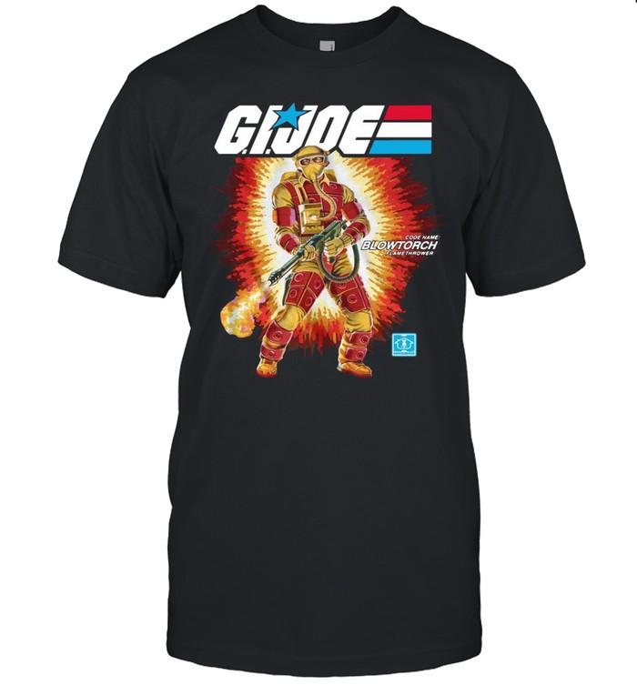 Gi Joe Code Name Blowtorch Flame Thrower shirt Classic Men's T-shirt