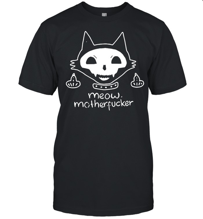 Cat Meow Mother Fucker  Classic Men's T-shirt