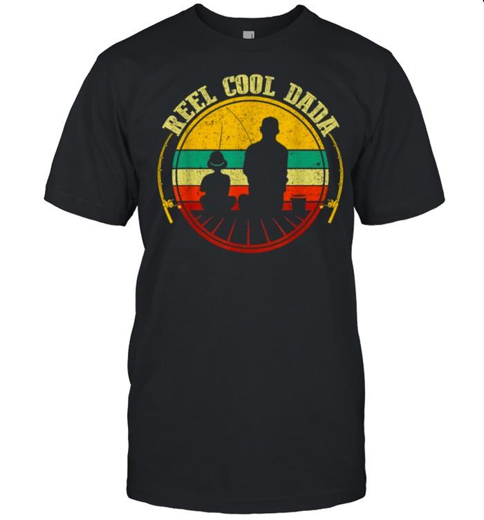 Reel Cool Dada Fathers Day Fishing shirt Classic Men's T-shirt