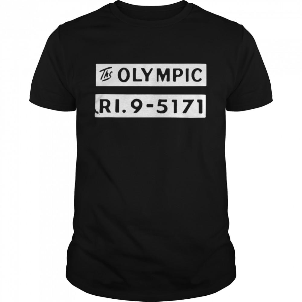 The olympic ri9 5171 shirt Classic Men's T-shirt