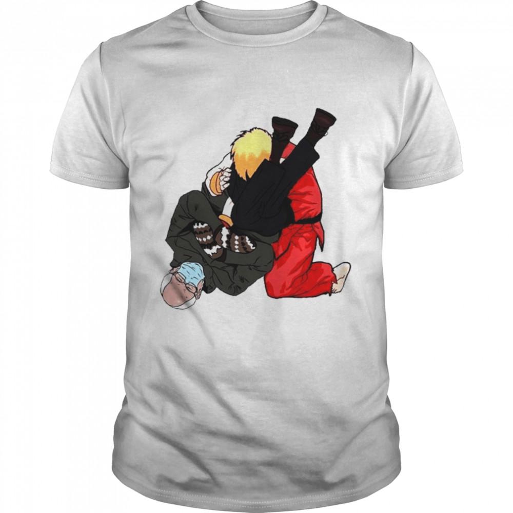Bernie Sanders Vs Naruto Jiu Jitsu shirt Classic Men's T-shirt