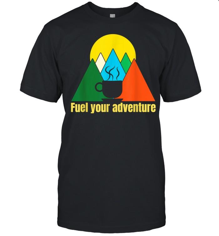 Coffee Outdoors Adventure shirt Classic Men's T-shirt