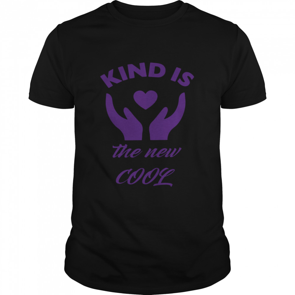 Kind Is The New Cool Heart 2021 shirt Classic Men's T-shirt