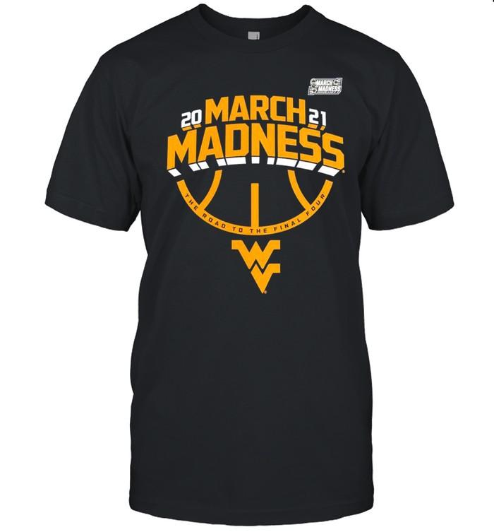 West Virginia Mountaineers 2021 NCAA Men's Basketball March Madness shirt Classic Men's T-shirt