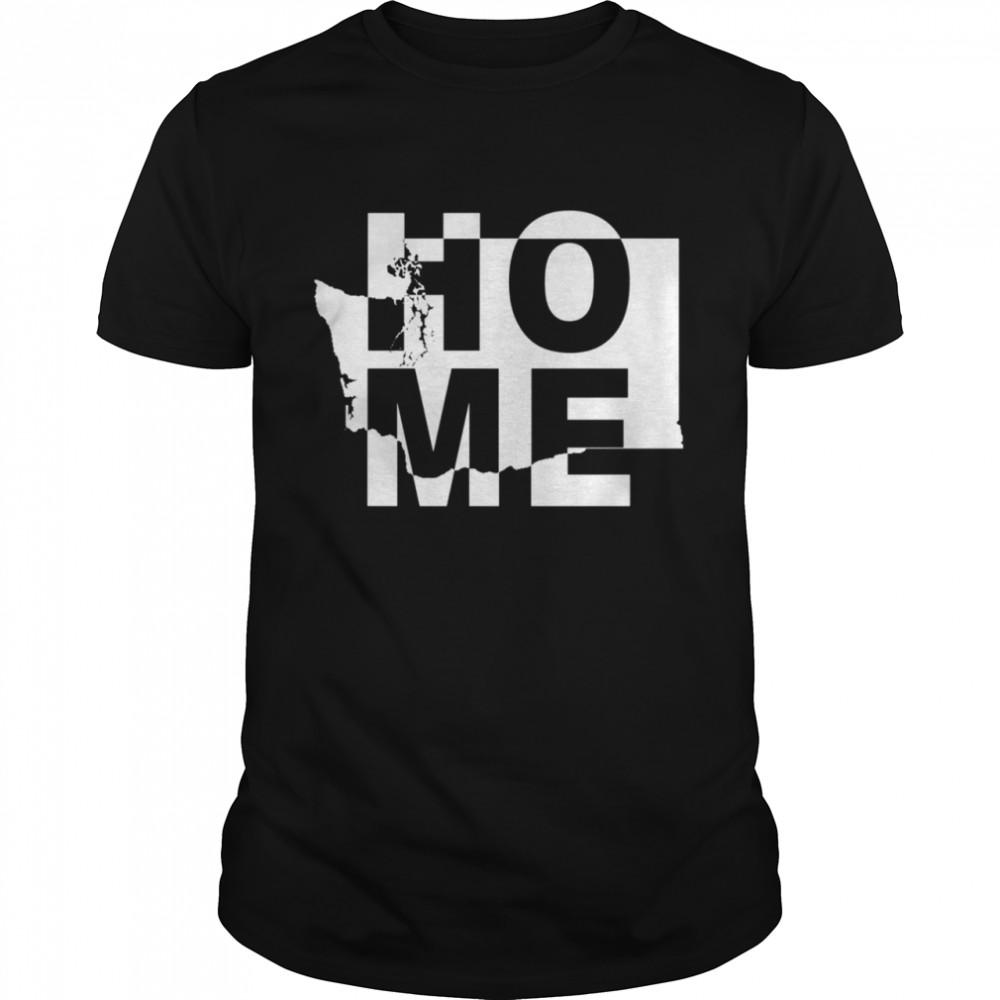 Home State Washington Matching Family Town shirt Classic Men's T-shirt