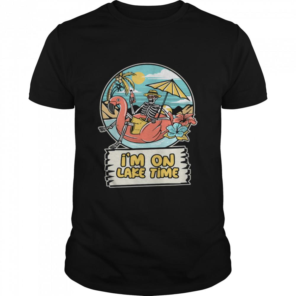 I'm On Lake Time Summer shirt Classic Men's T-shirt
