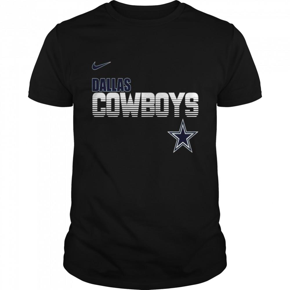 Dallas Cowboys Nike Line of scrim shirt Classic Men's T-shirt