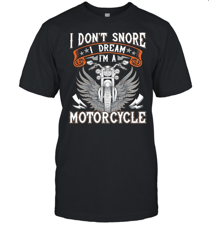 I dont snore motorcycle shirt Classic Men's T-shirt