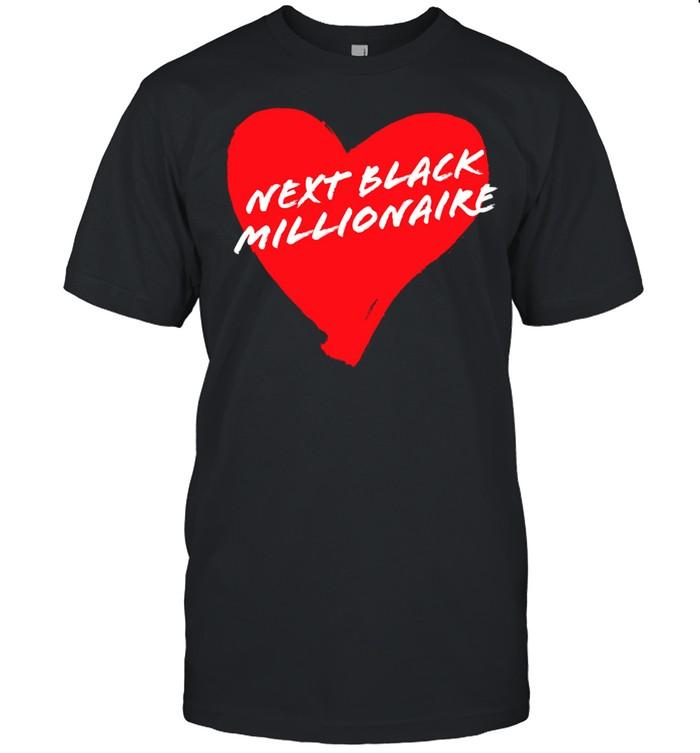 Next Black Millionaire Cool Heart  Classic Men's T-shirt