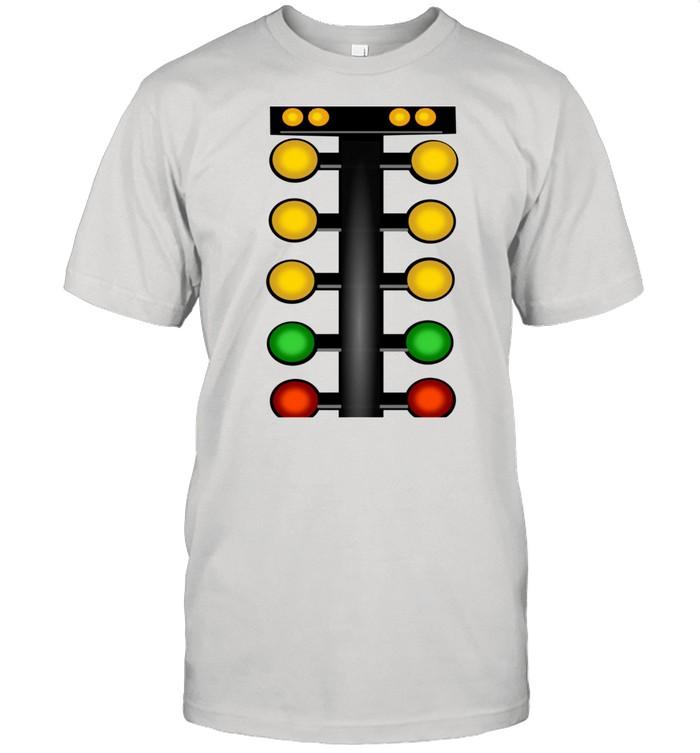 Drag Racing Christmas Tree Line It Up Horsepower Car  Classic Men's T-shirt