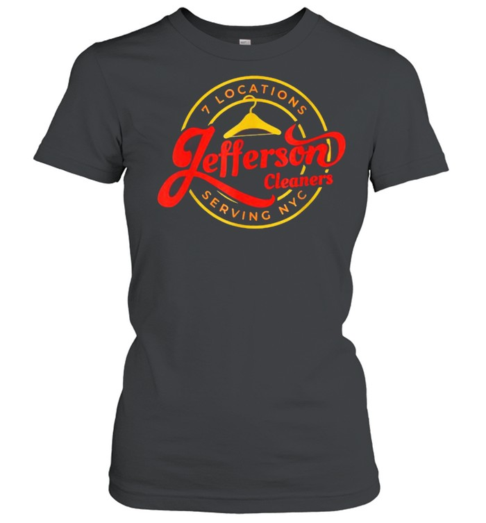 7 Locations Jefferson Cleaners Serving NYC T- Classic Women's T-shirt