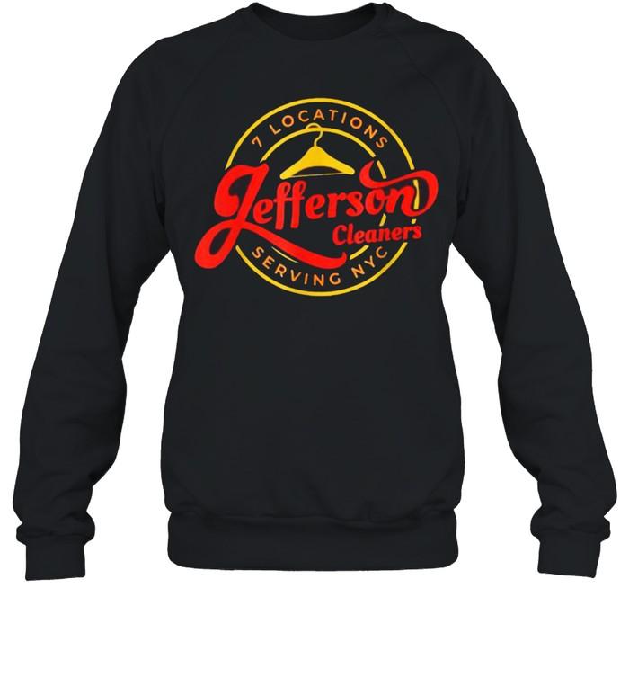 7 Locations Jefferson Cleaners Serving NYC T- Unisex Sweatshirt