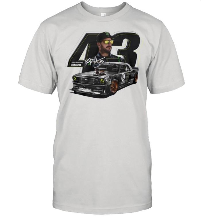 Ford mustang Ken Block signature shirt Classic Men's T-shirt