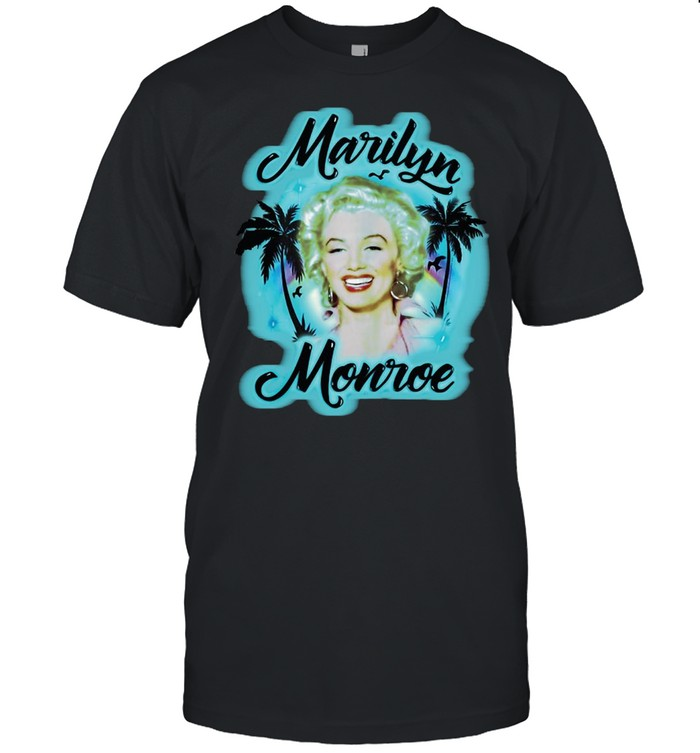 Marilyn Monroe Gift Marilyn Monroe Airbrush  Classic Men's T-shirt