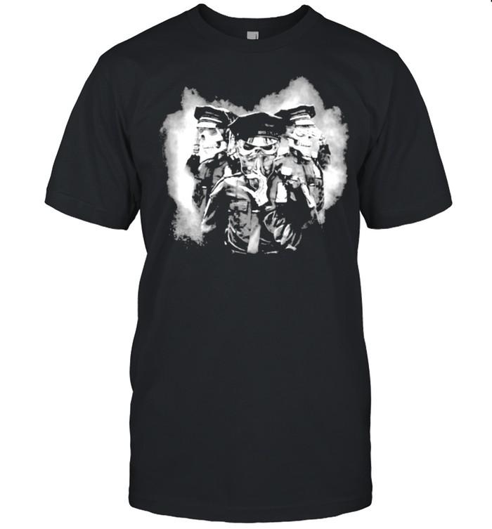 Police Skull  Classic Men's T-shirt