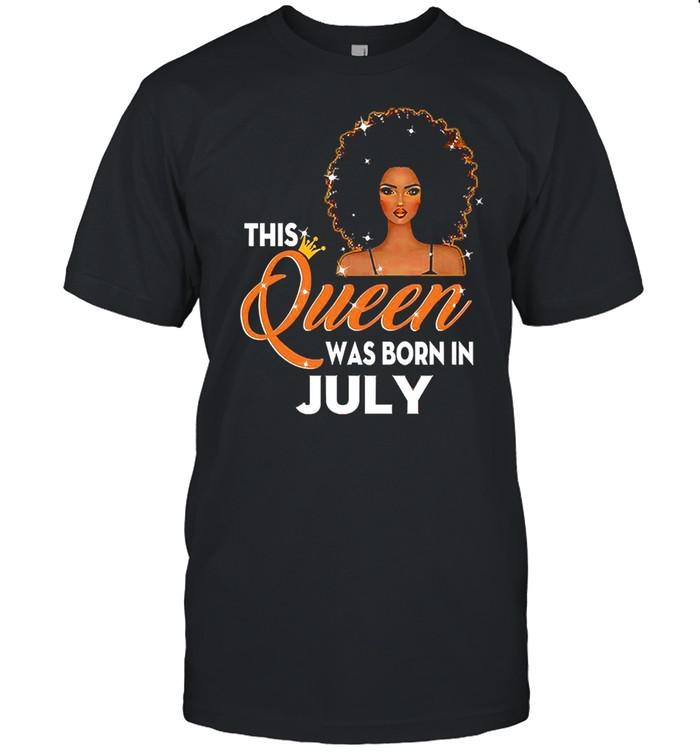 This Queen Was Born In June T-shirt Classic Men's T-shirt