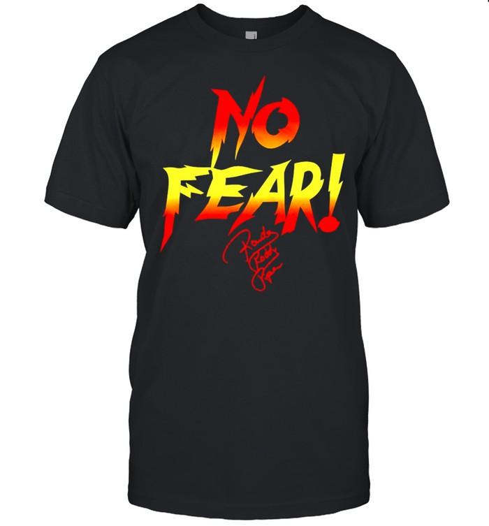 Rowdy Roddy Piper no fear shirt Classic Men's T-shirt