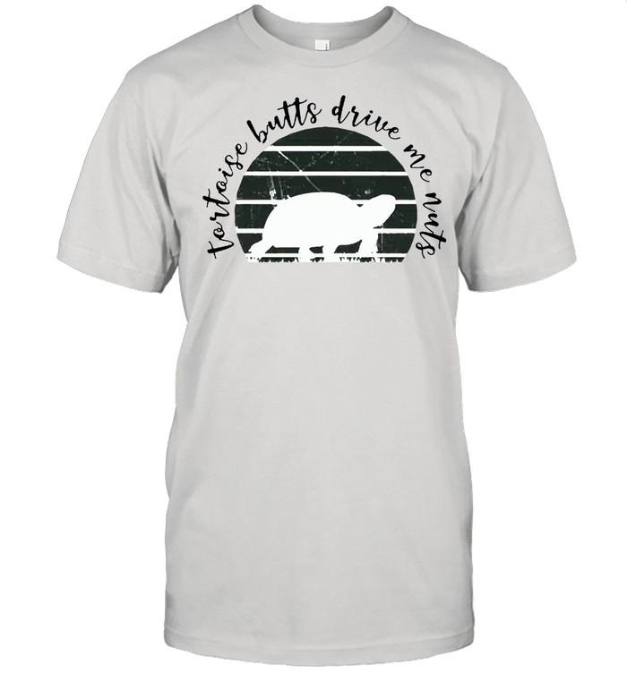 Tortoise butts drive me nuts shirt Classic Men's T-shirt