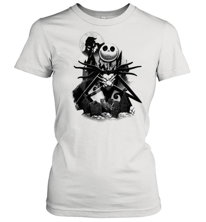 Disney Nightmare Before Christmas Jack T- Classic Women's T-shirt