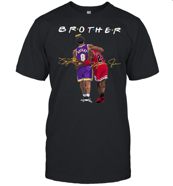 Brother Kobe Bryant And Michael Jordan Signatures shirt Classic Men's T-shirt