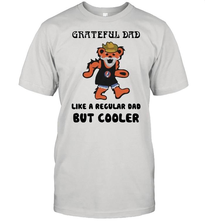 Grateful dad like a regular dad but cooler bear shirt Classic Men's T-shirt