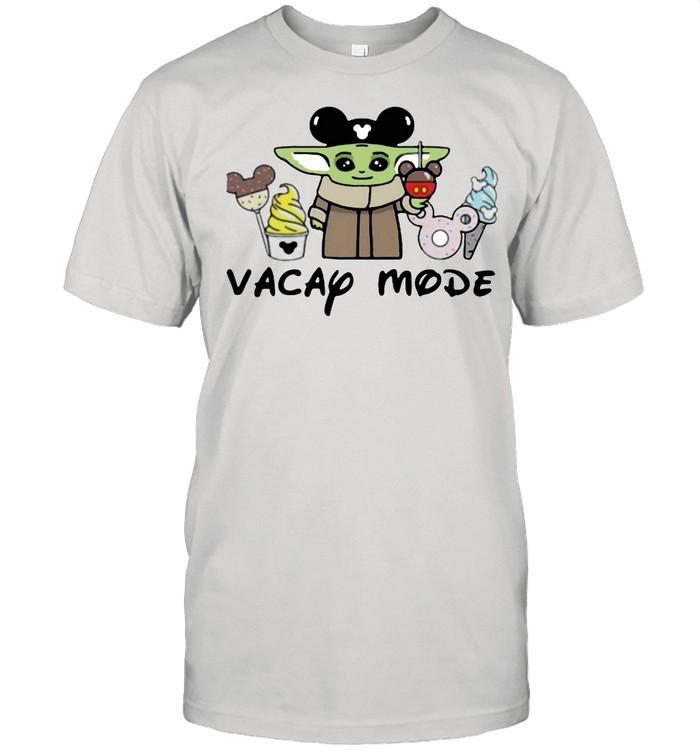 Vacay mode yoda mickey shirt Classic Men's T-shirt