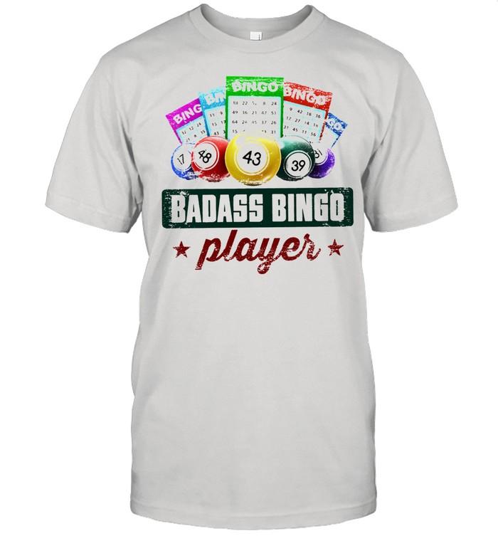 Badass bingo player t-shirt Classic Men's T-shirt