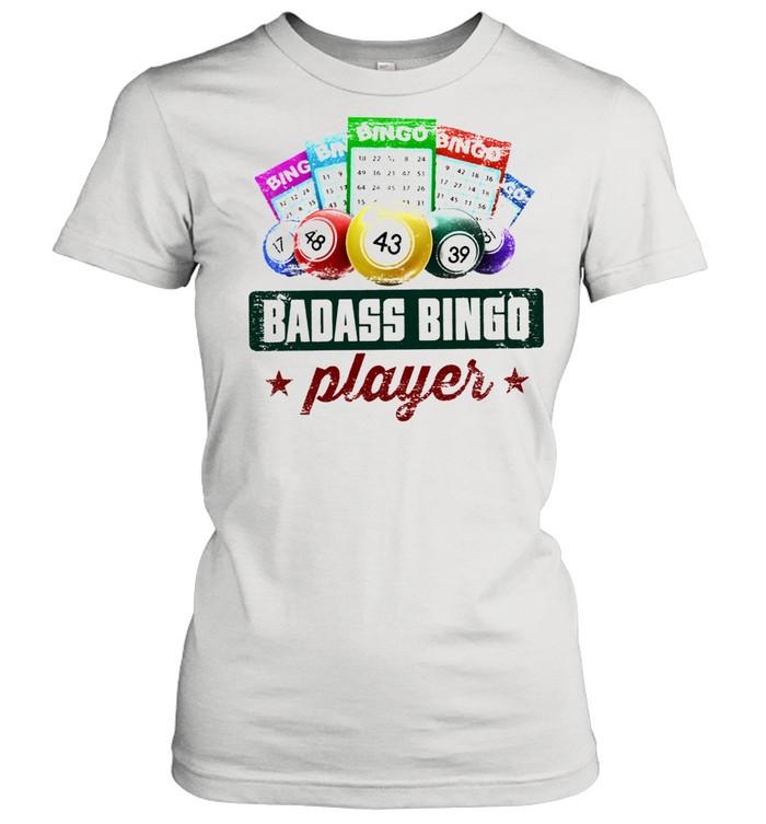 Badass bingo player t-shirt Classic Women's T-shirt
