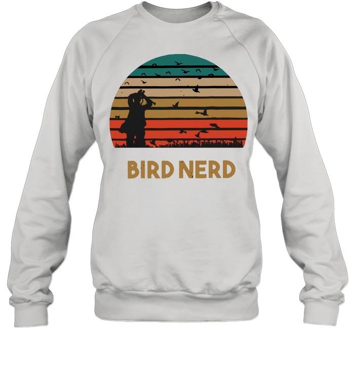 Bird Nerd shirt Unisex Sweatshirt