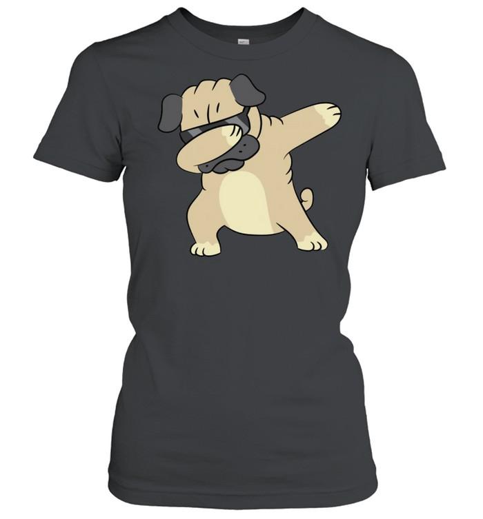 Pug Dabbing Pug Pug Puppy Dog Owner Pug shirt Classic Women's T-shirt