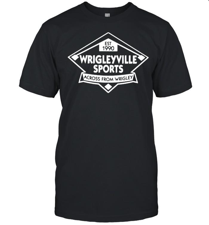 Wrigleyville sports across from wrigley shirt Classic Men's T-shirt