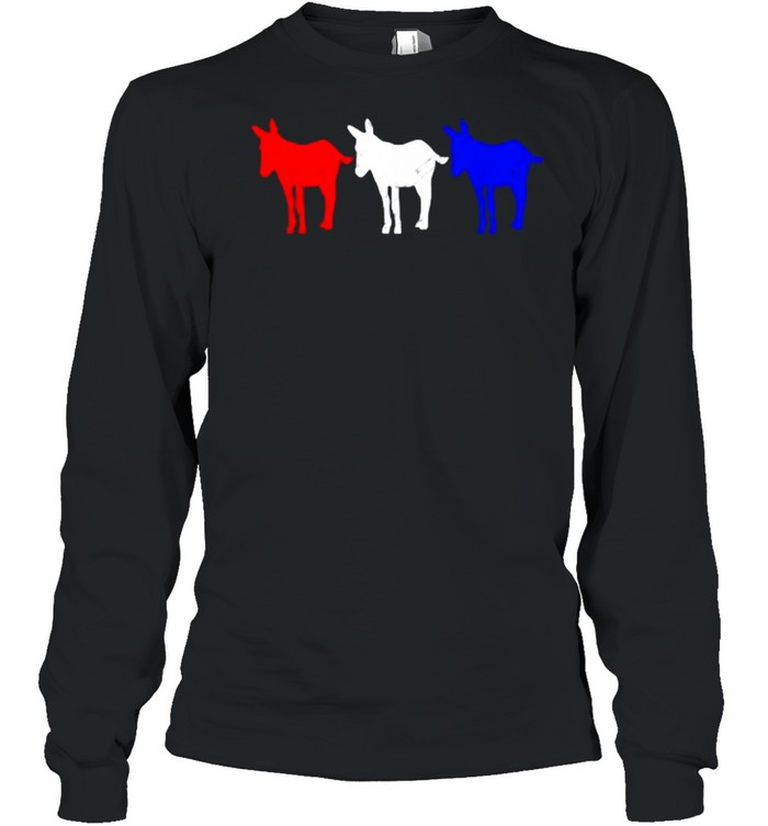 American Mule 4th of July Independence T- Long Sleeved T-shirt