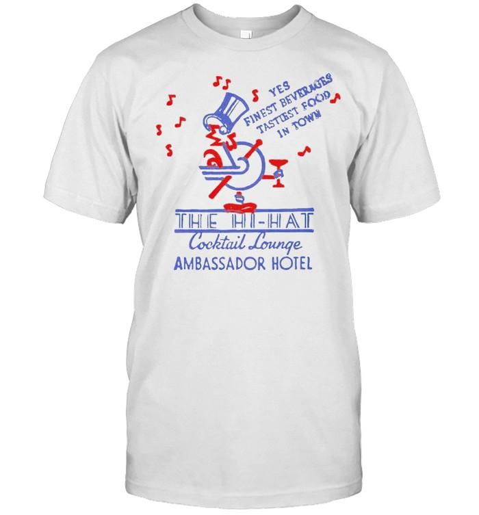 The Hi-Hat Cocktail lounge shirt Classic Men's T-shirt