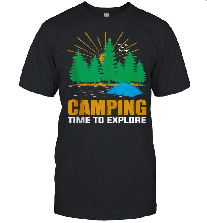 I just need to camping. Cousin Camp 2021 Summer Vacation shirt Classic Men's T-shirt