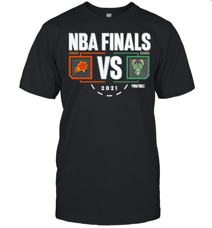 Phoenix Suns vs. Milwaukee Bucks 2021 NBA Finals Matchup shirt Classic Men's T-shirt