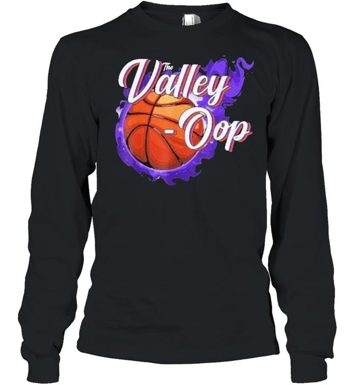 The Valley-oop Season Basketball Phoenix Suns NBA  Long Sleeved T-shirt