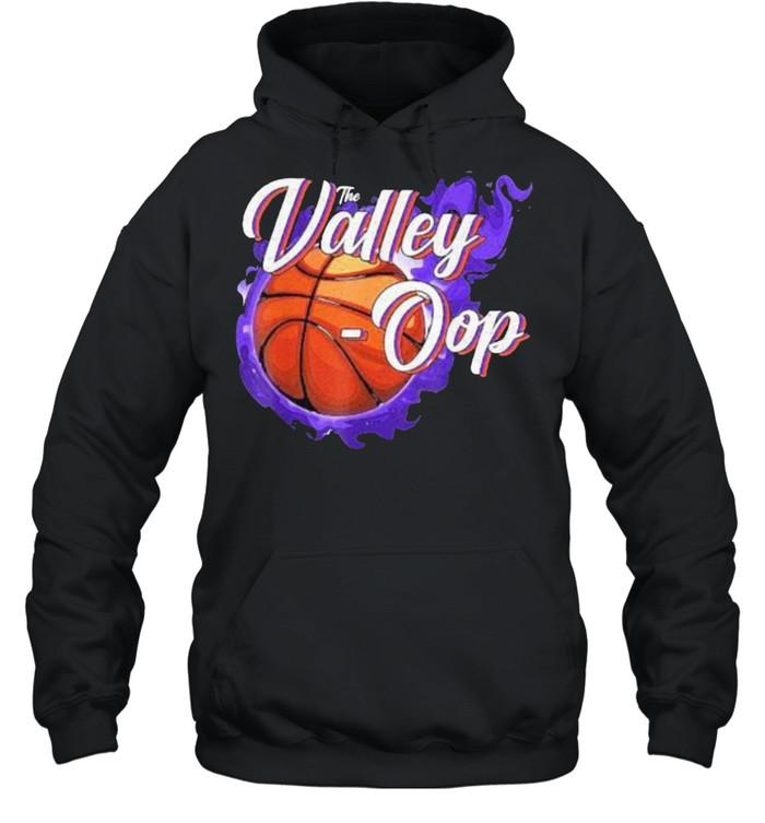 The Valley-oop Season Basketball Phoenix Suns NBA  Unisex Hoodie