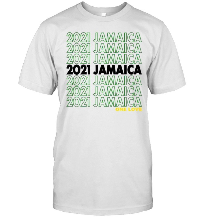 2021 Jamaican For Independence Carnival Festival Premium One Love  Classic Men's T-shirt