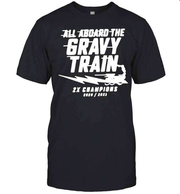 All Aboard The Gravy Train T-shirt Classic Men's T-shirt