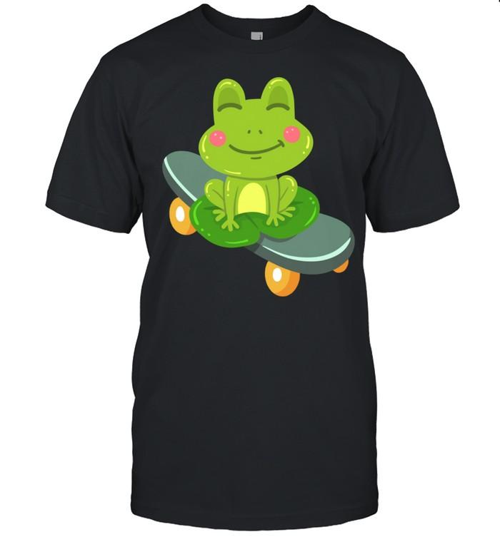Frog Skateboard Skateboarding shirt Classic Men's T-shirt