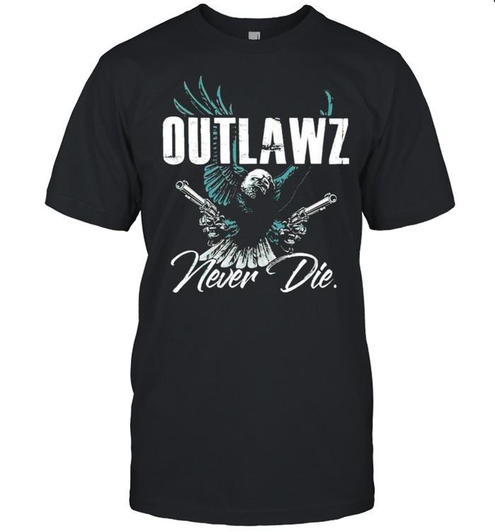 Outlaws never die shirt Classic Men's T-shirt