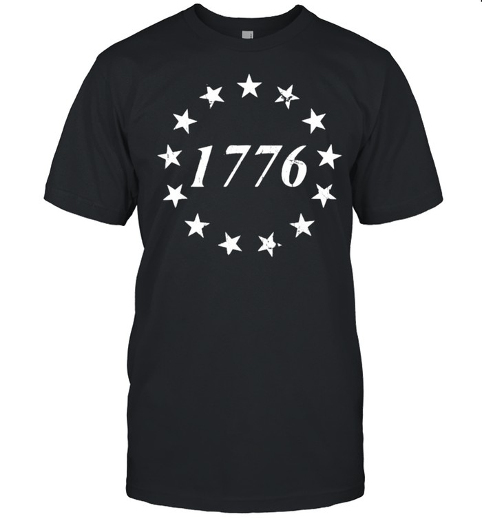 1776 Betsy Ross Flag Independence Day  Classic Men's T-shirt