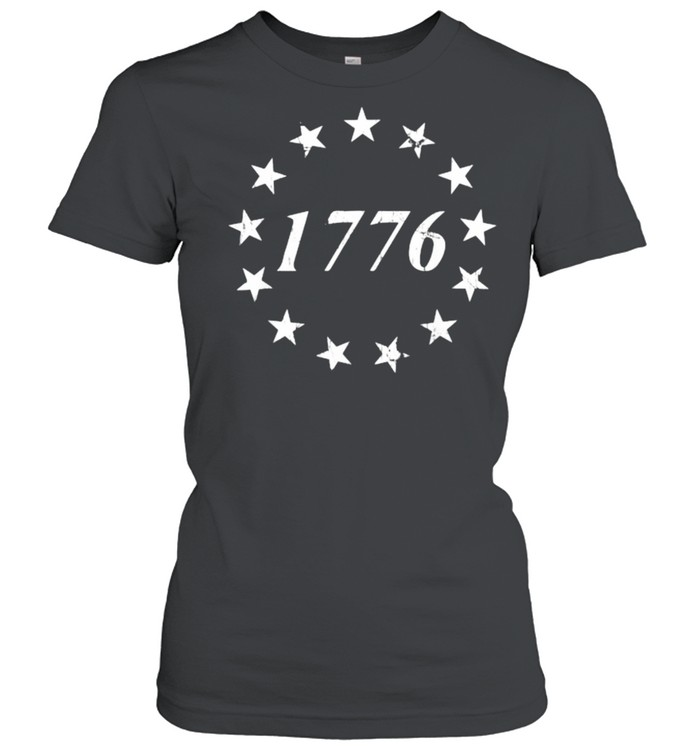 1776 Betsy Ross Flag Independence Day Classic Women's T-shirt
