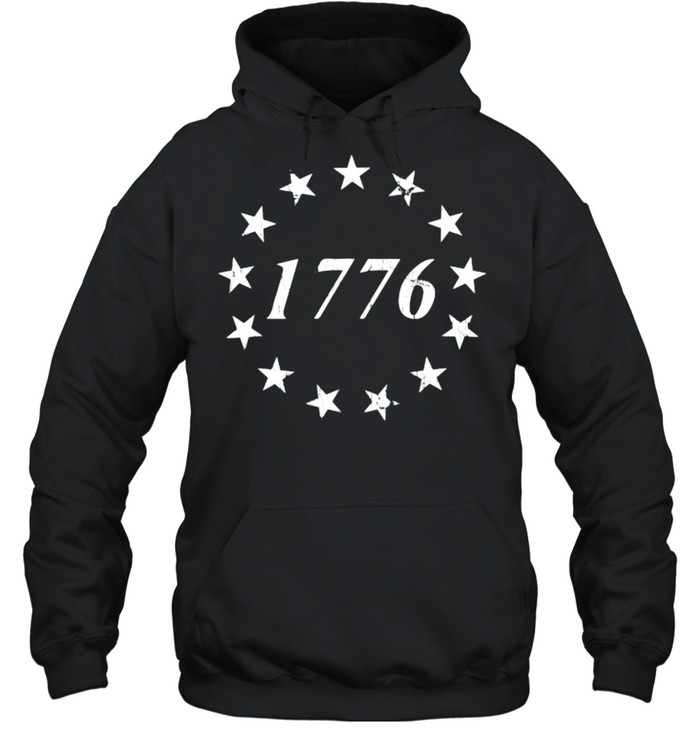 1776 Betsy Ross Flag Independence Day Unisex Hoodie