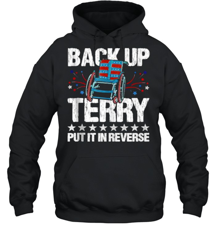 Back It up Terry Put It in Reverse 4th of July Independence Unisex Hoodie