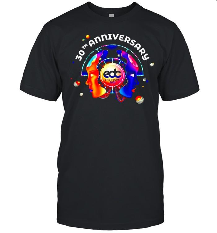 EDC Las Vegas 2021 30th Anniversary shirt Classic Men's T-shirt